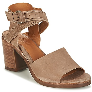 Shoes Women Sandals Shabbies SHS0180 HIGH REVERSED Taupe