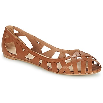 Shoes Women Sandals Jonak DERAY Cognac