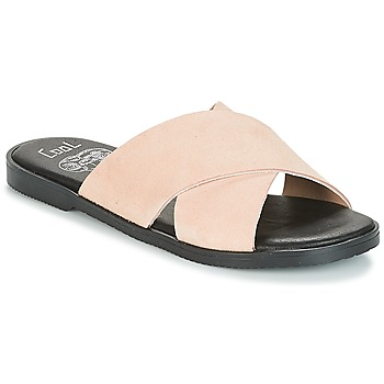 Shoes Women Mules Coolway ANDREA Pink