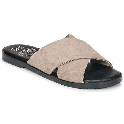 Shoes Women Mules Coolway ANDREA Taupe
