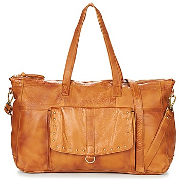 Bags Women Small shoulder bags Pieces NADEEN Cognac