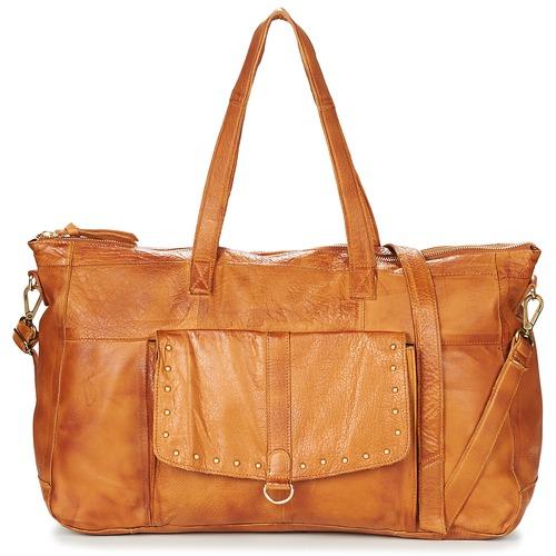 Bags Women Small shoulder bags Pieces NADEEN Cognac