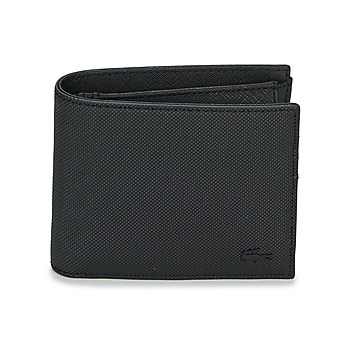 Bags Men Wallets Lacoste MEN'S CLASSIC Black