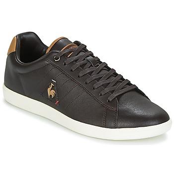 Shoes Men Low top trainers Le Coq Sportif COURTCRAFT S LEA Black