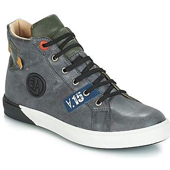 Shoes Boy Hi top trainers GBB SILVIO Grey