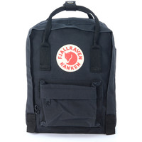 Bags Women Rucksacks Fjallraven Kånken by   mini black backpack Black