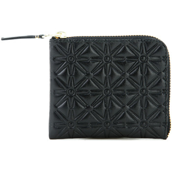 Bags Women Wallets Comme Des Garcons Comme des Garcons wallet in black printed cow leather Black