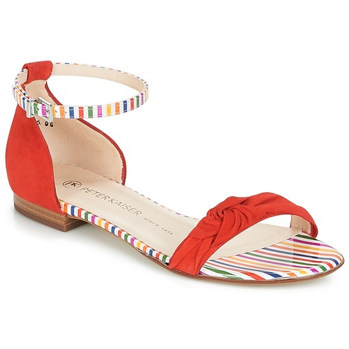 Shoes Women Sandals Peter Kaiser OSA Red