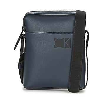 Bags Men Pouches / Clutches Calvin Klein Jeans HI-PROFILE MINI REPORTER Marine
