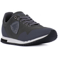 Shoes Men Low top trainers Blauer GRY RUNNING MESH Grigio