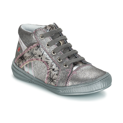 Shoes Girl Mid boots GBB ROSETTA Silver