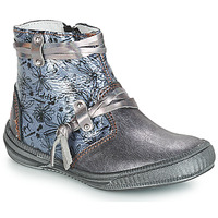 Shoes Girl Mid boots GBB REVA Girs / Blue