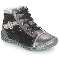 Shoes Girl Hi top trainers GBB ROMIE Black / Grey