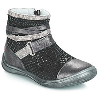 Shoes Girl Mid boots GBB ROCHELLE Grsi / Black
