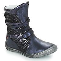 Shoes Girl High boots GBB ROSANA Blue
