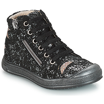 Shoes Girl Hi top trainers GBB DESTINY Black