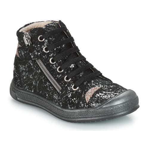 Shoes Girl Hi top trainers GBB DESTINY Black