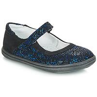 Shoes Girl Flat shoes GBB PLACIDA Blue / Black