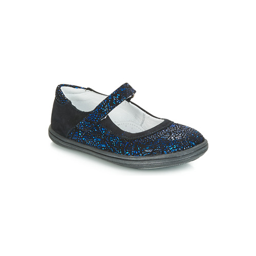 Shoes Girl Flat shoes GBB PLACIDA Blue / Black