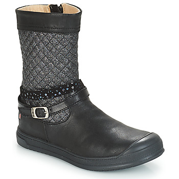 Shoes Girl High boots GBB ROLANDE Vts / Black