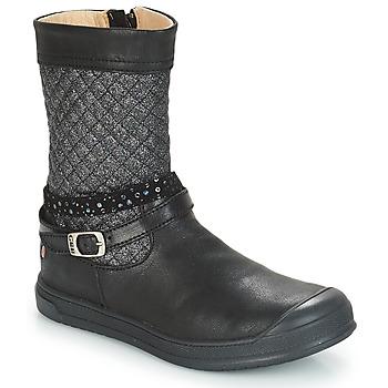 Shoes Girl High boots GBB ROLANDE Black