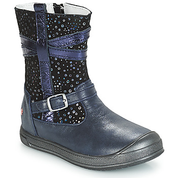 Shoes Girl Mid boots GBB NARCISSE Marine