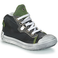 Shoes Boy Hi top trainers GBB RONALD Grey / Green