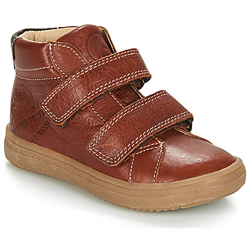 Shoes Boy Mid boots GBB NAZAIRE Brown