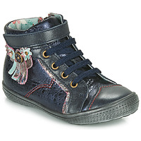 Shoes Girl Mid boots Catimini ROSIER Marine
