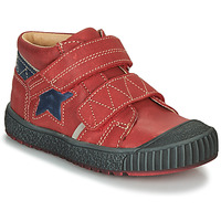 Shoes Boy Mid boots Catimini RADIS Red