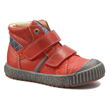 Shoes Boy Hi top trainers Catimini RAIFORT Vte / Red/blue / Linux