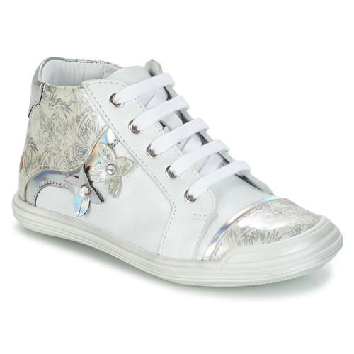 Shoes Girl Hi top trainers GBB SATYA White / Silver