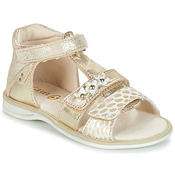 Shoes Girl Sandals GBB SYLVIE Ctv / Gold / Lola