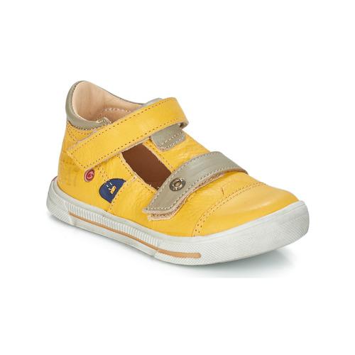 Shoes Boy Sandals GBB STEVE Yellow