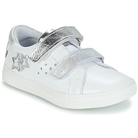 Shoes Girl Low top trainers GBB SANDRA White / Silver
