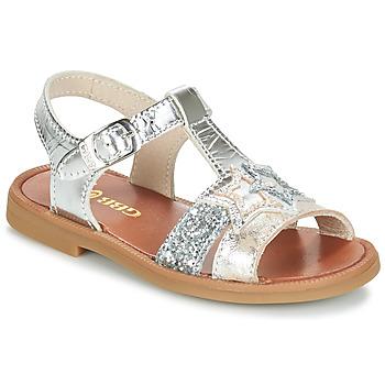 Shoes Girl Sandals GBB SHANTI Silver