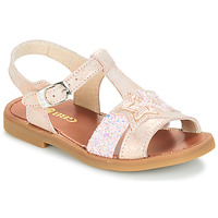 Shoes Girl Sandals GBB SHANTI Pink