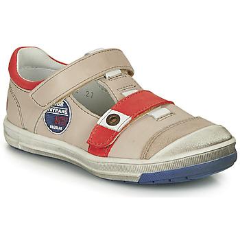 Shoes Boy Sandals GBB SCOTT Beige / Red