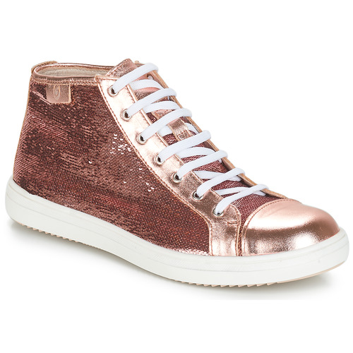 Shoes Girl Hi top trainers GBB IMELDA Pink