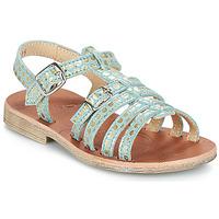 Shoes Girl Sandals GBB BANGKOK Green / Gold