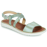 Shoes Girl Sandals GBB ADRIANA Blue / Gold