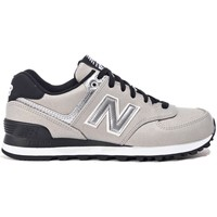 Shoes Women Low top trainers New Balance WL574SFI Silver