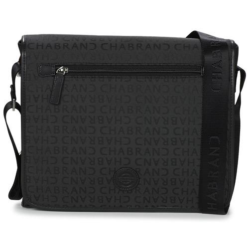 Bags Men Messenger bags Chabrand PRADO GIBECIERE Black