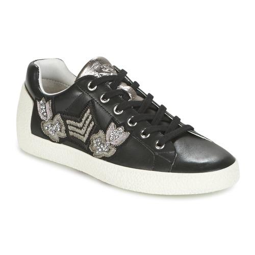 Shoes Women Low top trainers Ash NAK-AR Black