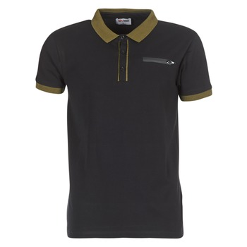 Clothing Men short-sleeved polo shirts Yurban IMARTINGO Black