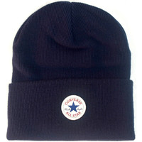 Clothes accessories Hats / Beanies / Bobble hats Converse Tall Cuff Watchcap Knit Beanie - Navy Blue