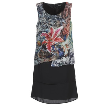 Clothing Women Short Dresses Desigual OULKE Multicoloured