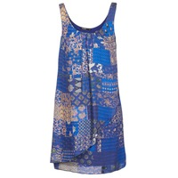 Clothing Women Short Dresses Desigual OFFOELA Blue