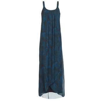 Clothing Women Long Dresses Desigual PAOLEPA Blue