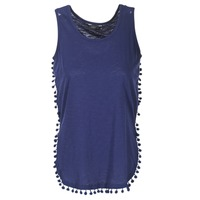 Clothing Women Tops / Sleeveless T-shirts Kaporal LANA Marine